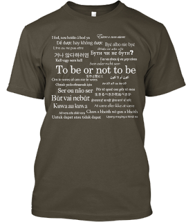 Shakespeare Is Universal T-Shirt