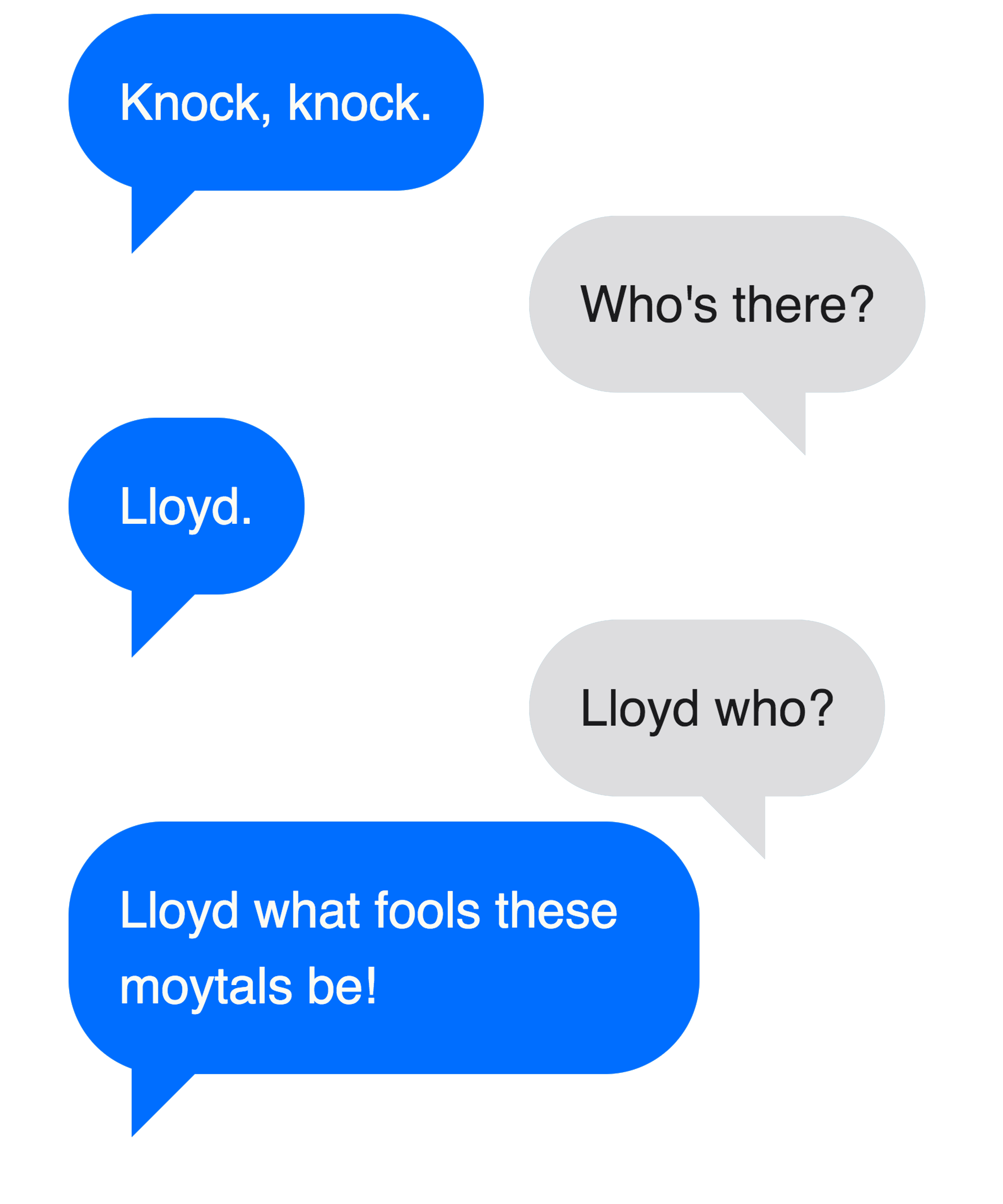Lloyd What Fools These Mortals Be Shakespeare Geek T-Shirt