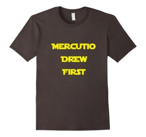 Mercutio Drew First Merchandise Now Available!
